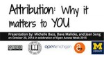 Why Attribution Matters presentation slide