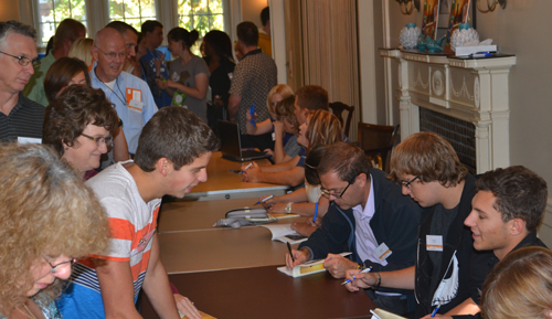 ICD book signing