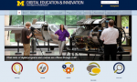 U-M Digital Education and Innovation website
