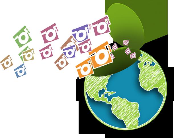 Open Education Week globe